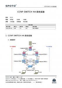 【FHRP】网络高可用性综合实验