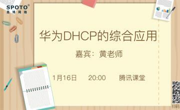 华为DHCP的综合应用