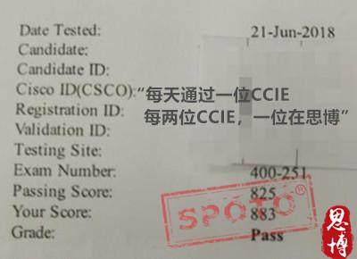 ccie written pass