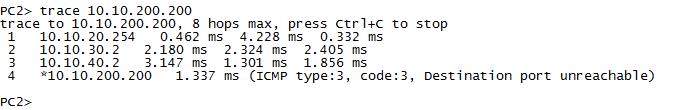 对于trace有两种报文,一种是ICMP,一种是UDP