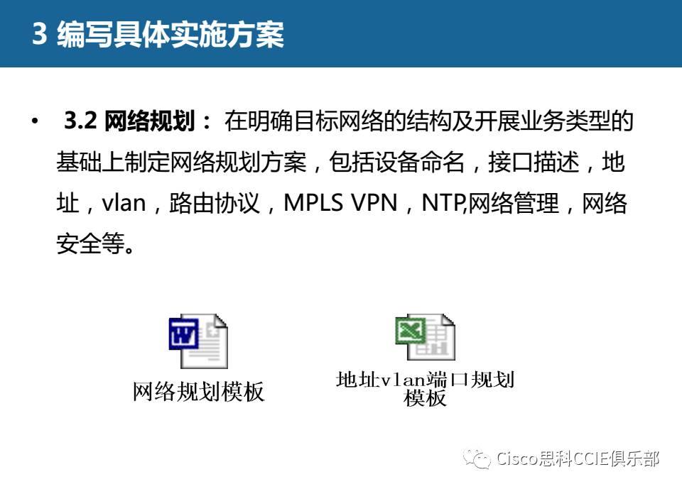 3.2网络规划