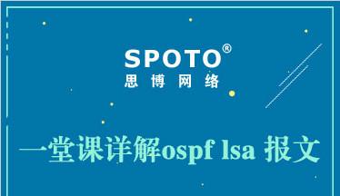 一堂课详解OSPF LSA报文