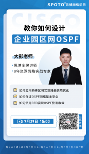 带你设计大型企业园区网OSPF