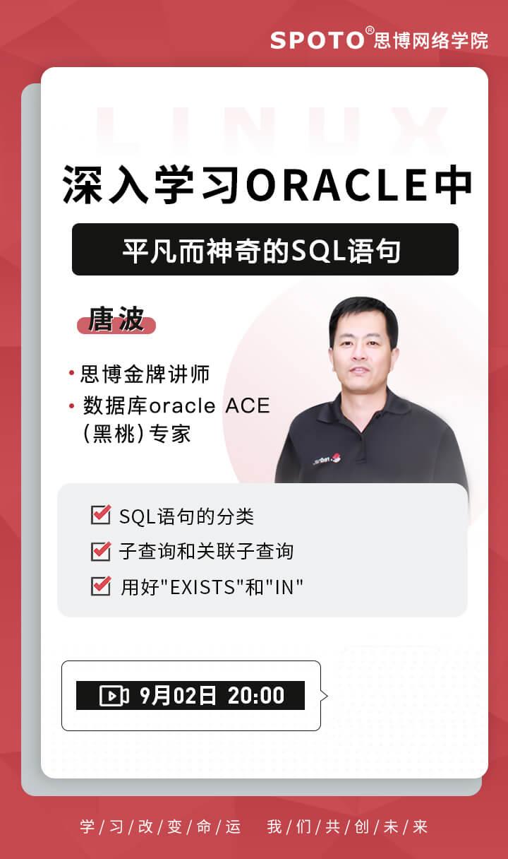 深入学习Oracle中平凡而神奇的SQL语句