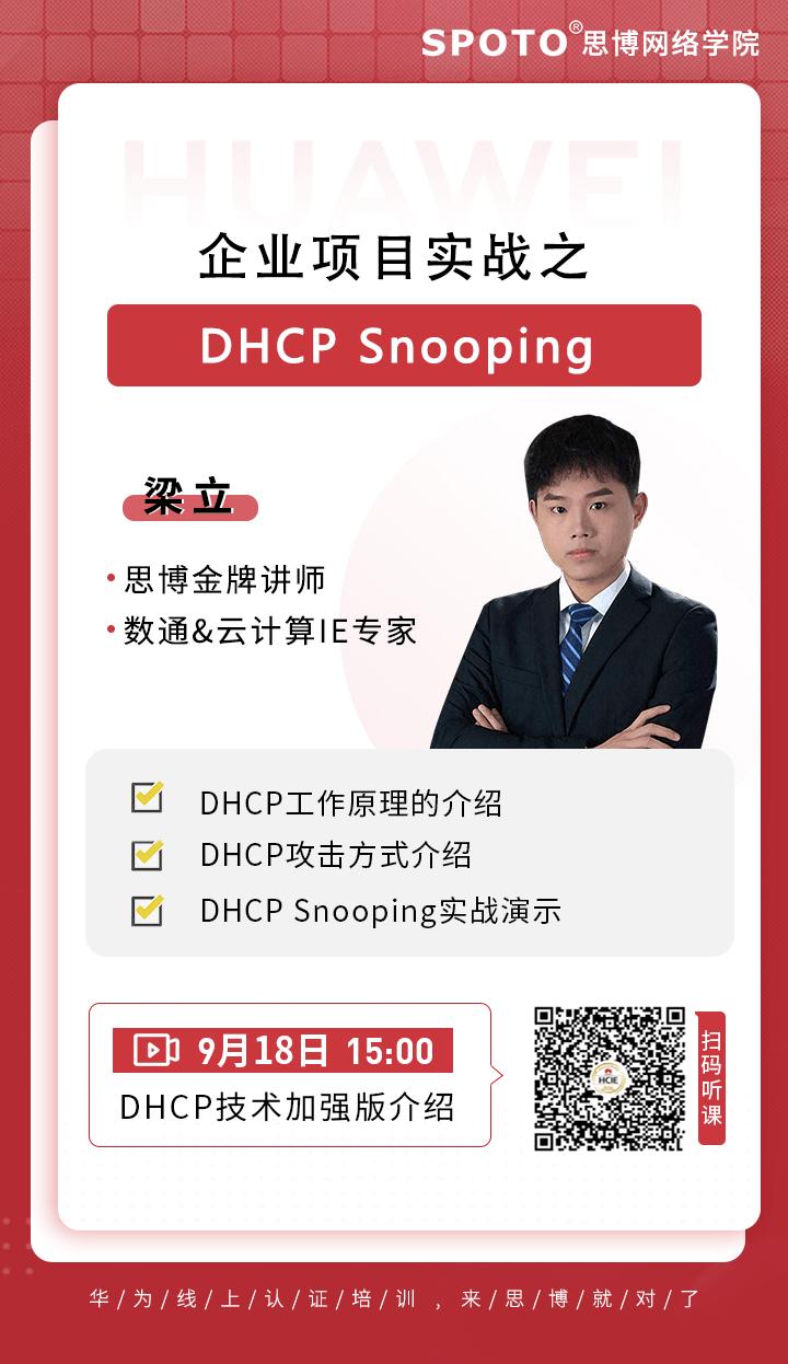 企业项目实战之-DHCP Snooping