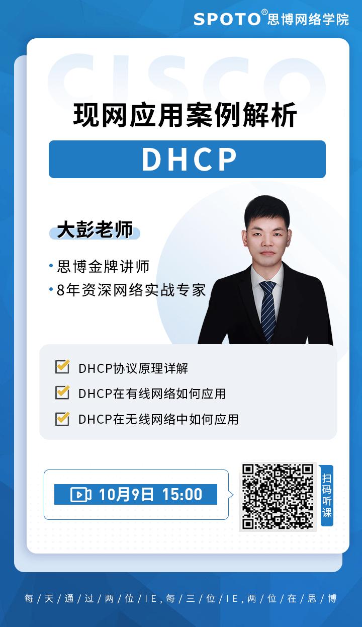 DHCP现网应用案例解析