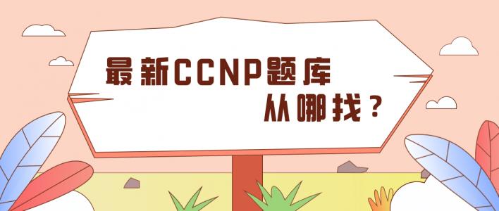 最新CCNP题库从哪找?