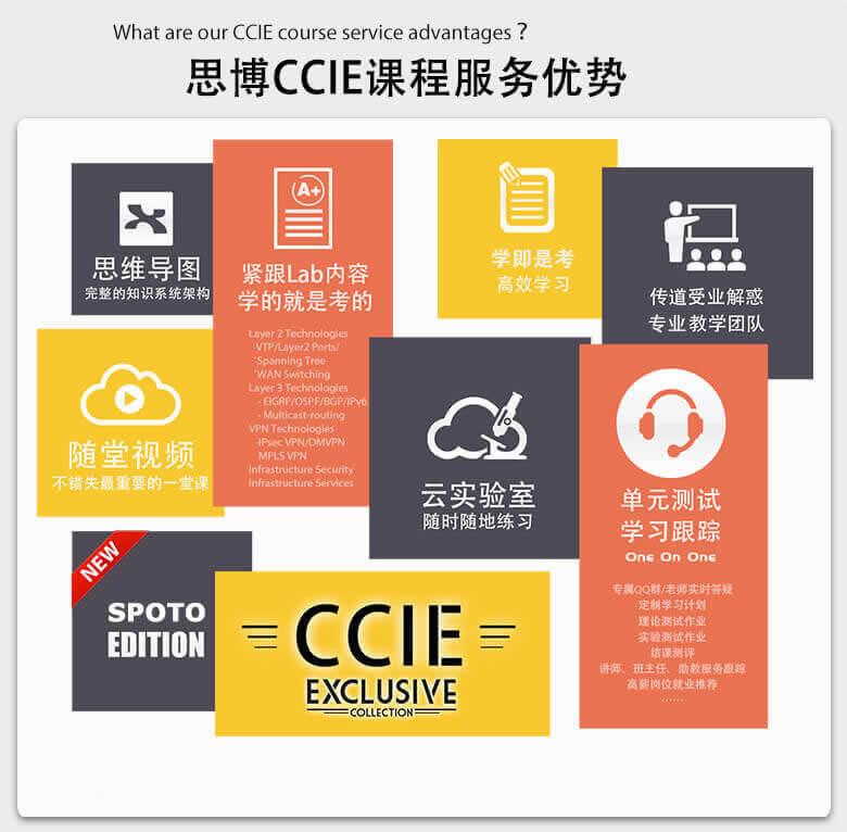 思博CCIE EI课程服务优势