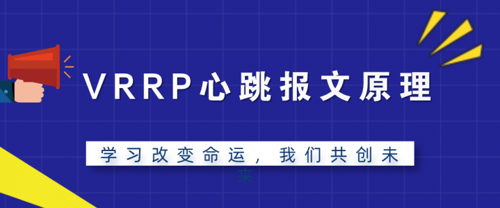 VRRP心跳报文原理