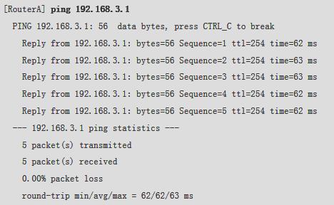 使用Ping命令验证连通性