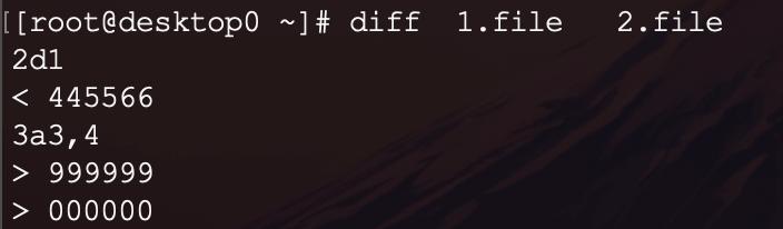 好用Linux命令系列一之diff命令-2