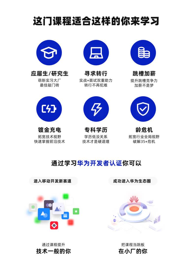 华为开发者认证适合人群