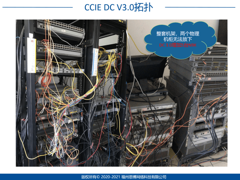 思博网络SPOTO CCIE DC V3.0拓扑