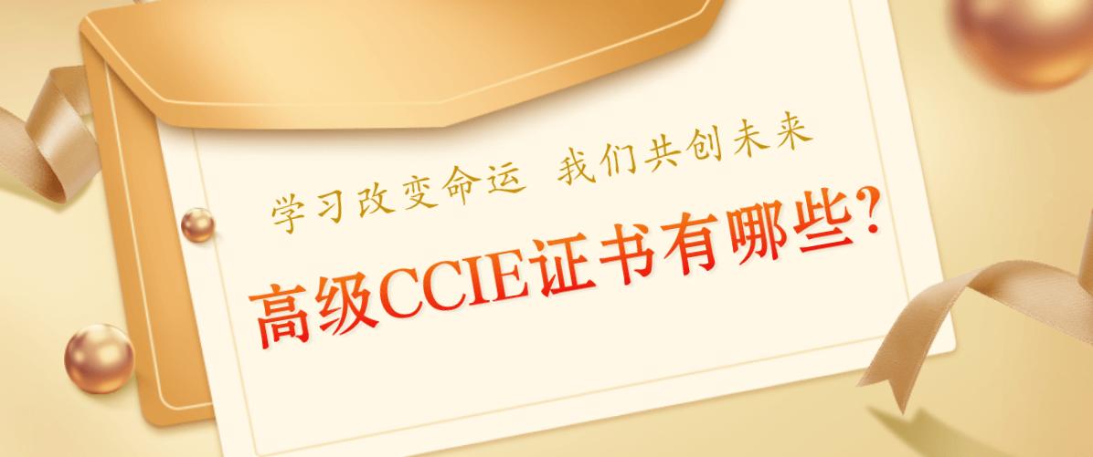 高级CCIE证书有哪些?