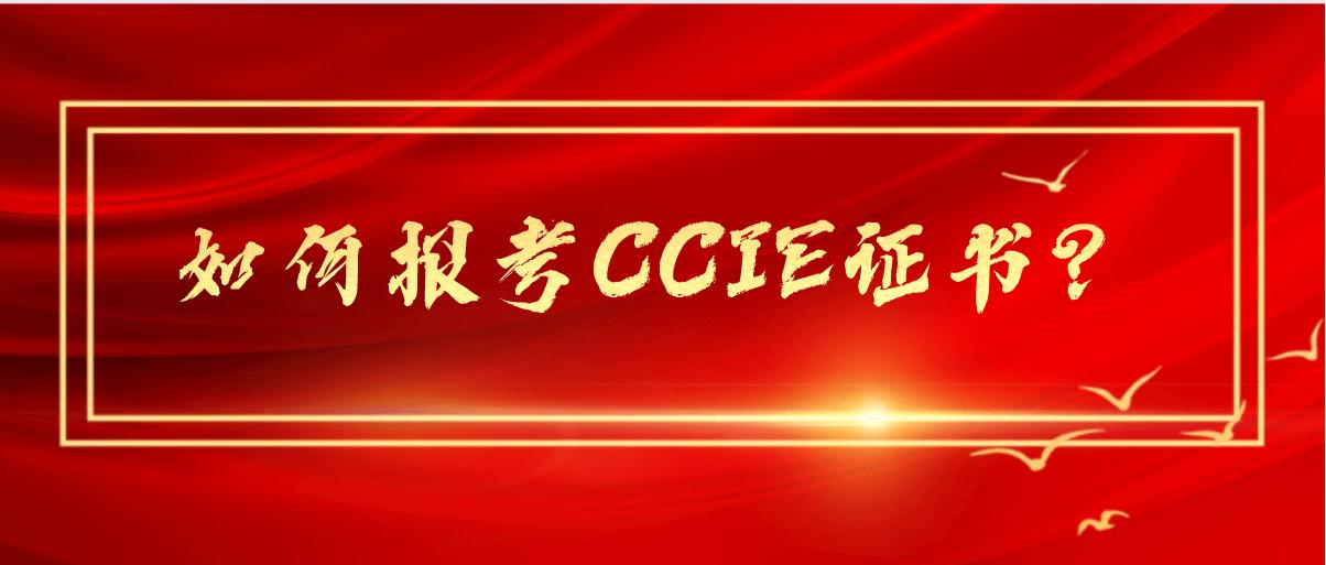 如何报考CCIE证书?