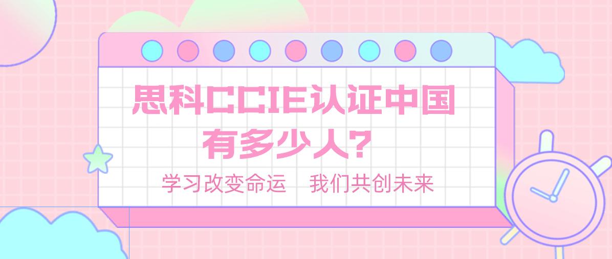 思科CCIE认证中国有多少人?