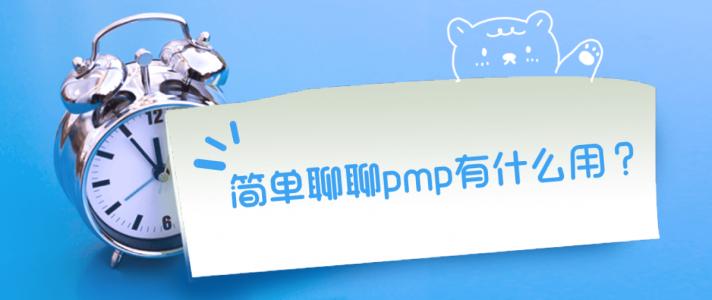 简单聊聊PMP有什么用?